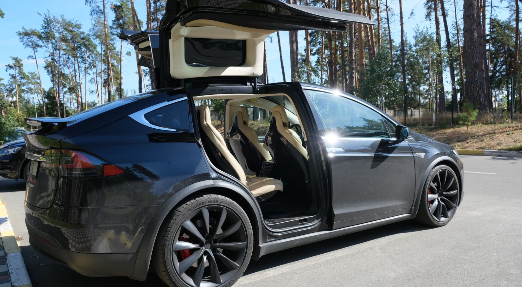 Tesla Model X  Performance 2016